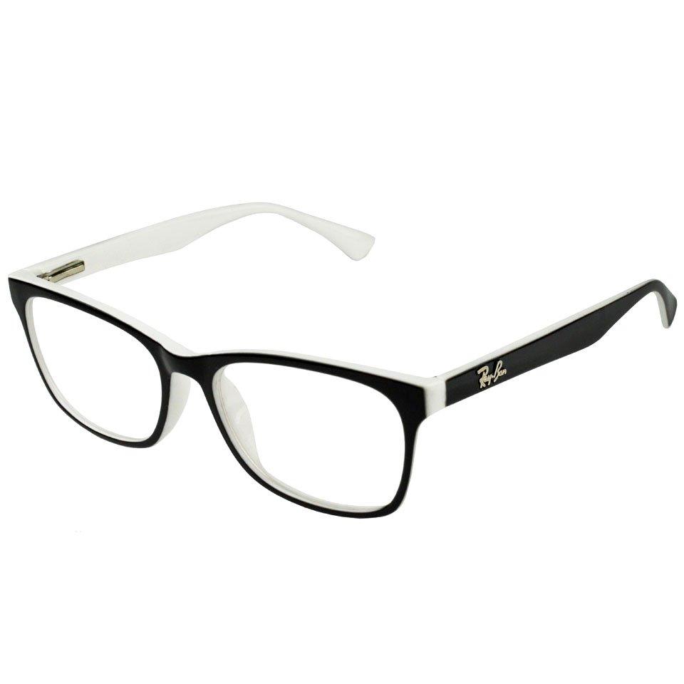óculos armação grau quadrado feminino mulher rayban geek lan. Carregando  zoom. 769af9535f