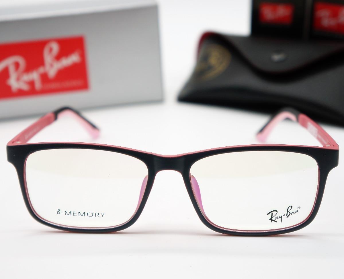 d005032a81 óculos armação grau unissex acetato leve rayban varias cores. Carregando  zoom.