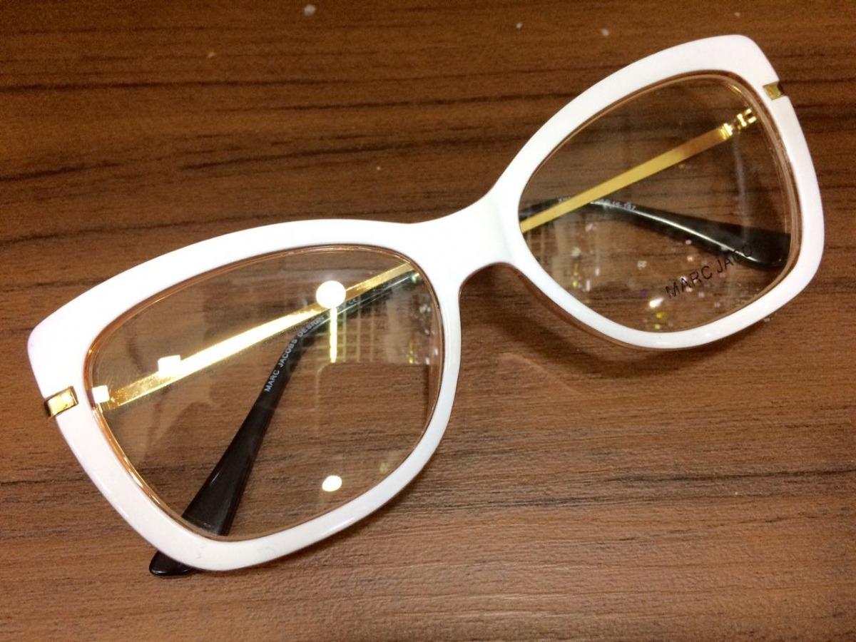 f9c533cdf0750 óculos armação marc jacobs para grau enrega imediata -mj100. Carregando  zoom.