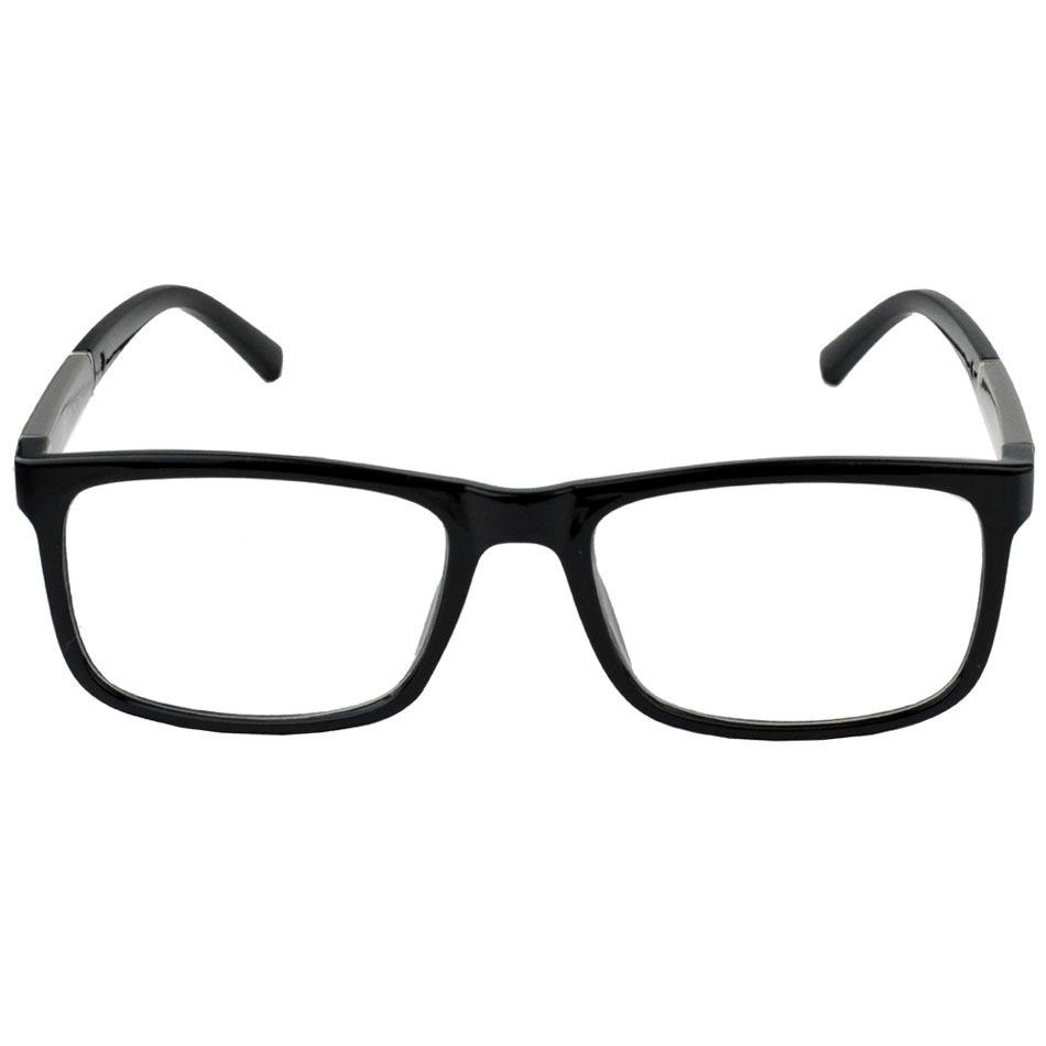 óculos armação masculino rayban quadrado preto estojo flanel. Carregando  zoom. 34e26642ad