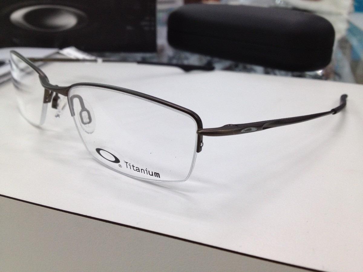 oculos armação oakley wingback titanium ox5089-0553 pewter. Carregando zoom. 6d14ced812