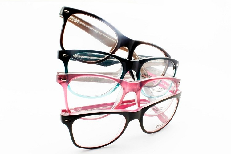 cdc38efbaa8fe Óculos Armação P  Multifocal Transitions Anti Reflexo - 6015 - R ...