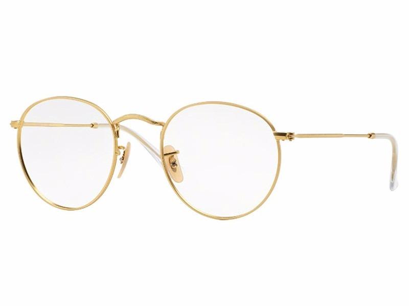 Óculos Armação Grau Ray Ban, Rayban Round Dourado - R  55,90 em ... 942675b378