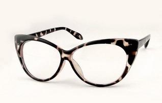 Óculos   Armação Retrô De Gatinho   Cat Eye Leopardo   Onça - R  34 ... 4b26fec524