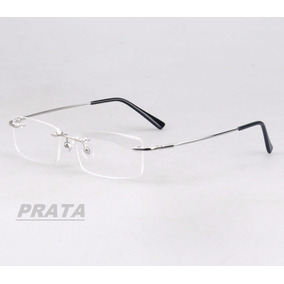 9680d94baaa55 Oculos Sem Aro Com Haste Fino - Óculos no Mercado Livre Brasil