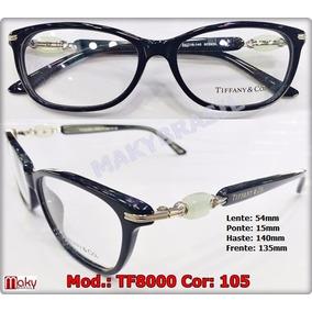 4c7f5f623cb62 Oculos Grau Tiffany Branco - Óculos no Mercado Livre Brasil