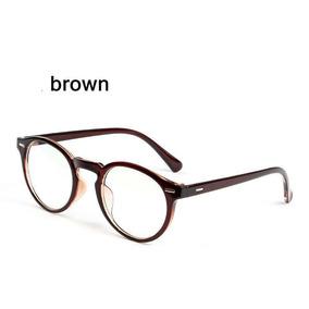 c1875fef0 Armação Óculos D Grau Acetato Redondo Masculino Feminino Bo