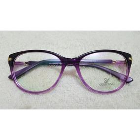 60d3549ce7cbf Oculos De Grau Feminino Swarovski no Mercado Livre Brasil