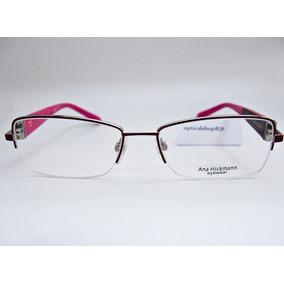 5b3dc06930640 Armação Para Óculos Ana Hickmann Duo Fashion Ah1268 Orig Nfe