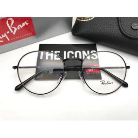 c1e1ebd26f250 Oculos De Grau Ray Ban Rb3447v Round Redondo 53mm Unissex