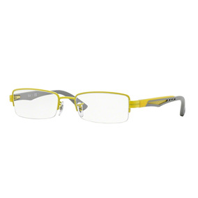 29fadef999eab Ray Ban Rb 5246 - Óculos Amarelo no Mercado Livre Brasil