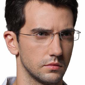 c3f84129d2d44 Armação Oculos Grau Titanio Original Feminino Masculino A01