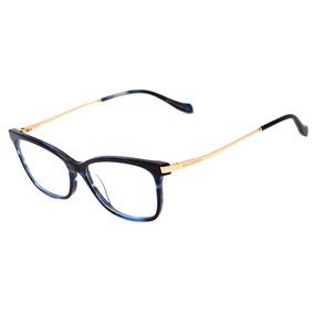 5d5d19fb64278 Oculo De Grau Ana Hickman Azul Marinhoovos Modelos - Óculos no ...