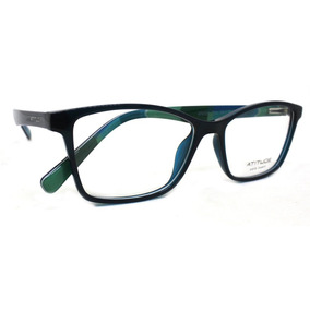42eb2b0f77aa3 Oculos Azul Atitude - Óculos no Mercado Livre Brasil