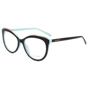 bf02916248f41 Armação De Grau - Tiffany   Co. Gatinho - Tf2147 Oculos. 4 cores. R  139