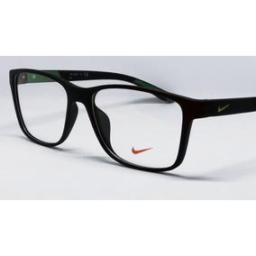 23d37167c6840 Armação Oculos De Grau Masculino Original Nike 5770 Acetato