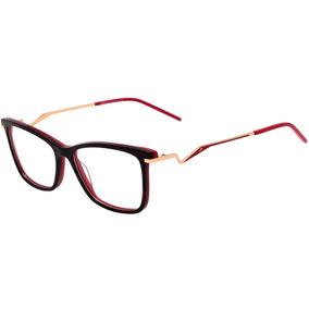 d97bd15ea0ef1 Oculos De Grau Ana Hickmann Hi 6043 no Mercado Livre Brasil