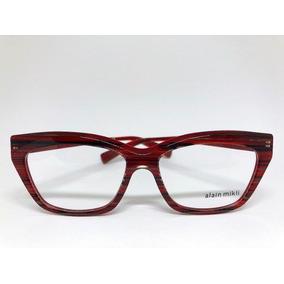 fba3d68830d24 Óculos De Grau Alain Mikli Ao3016 3027. R  1.555