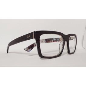 76fd2bf70477e Óculos Aemação Acetato Masculino Tamanho 55 Preto Freedom