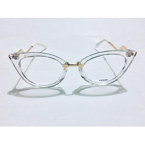 e2b1005afb948 Óculos De Grau Fendi Transparente - Óculos no Mercado Livre Brasil