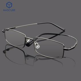 50e35d2093196 Óculos Masculino Em Titanium - - Óculos no Mercado Livre Brasil