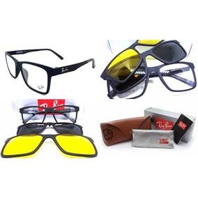 664c537c7 Armação Oculos Grau Sol Ray Ban Rb2089 2 Clip On Promoção