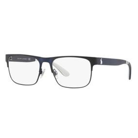 a8b8334f246ec Armação Oculos Grau Polo Ralph Lauren Ph1178 9303 56 Azul Br