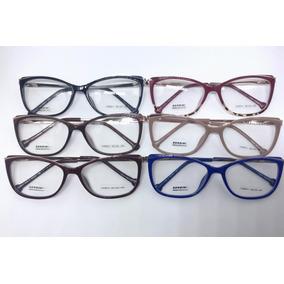 dcf397bc9a96b Oculos Grau De Marca Feminino - Óculos Azul piscina no Mercado Livre ...
