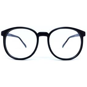 e8db8bf4542b1 Oculos Redondo Sem Grau Preto - Óculos no Mercado Livre Brasil