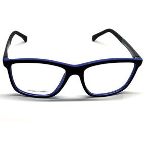 9016b7e00b2ca Armani Armação Emporio Oculos Para Grau Ea6043 - Acetato
