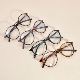 47c2f7c83160f Oculos Redondo Tumblr Pretos - Óculos no Mercado Livre Brasil