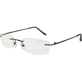 7676a19fb5f26 Armação Oculos Grau Titanio Original Masculino Feminino A03