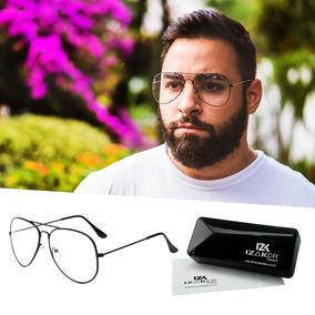 70d378c9dd393 Oculos Aviador Grau Masculino - Óculos no Mercado Livre Brasil