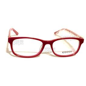 c58331a41a96b Oculos De Grau Gucci 6124 - Óculos no Mercado Livre Brasil
