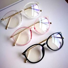 407350ba53c42 Oculos Redondo Grande Titanio - Óculos em Santos no Mercado Livre Brasil
