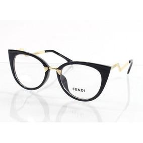 2684ef55f414d Oculos De Grau Fendi Original - Óculos no Mercado Livre Brasil