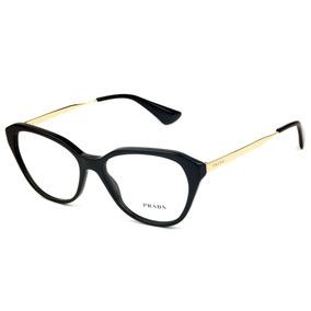 13741190343fb Oculos Grau Prada Gatinho - Óculos no Mercado Livre Brasil