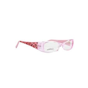 4daf23d11 Óculos Armação Infantil Senninha Rosa Claro Opticas Melani