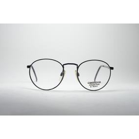34c8f7d83b535 Armação P  Grau Óculos Redondo Preto Retro Masc fem Phantom