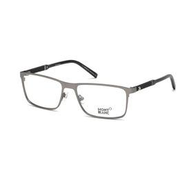 09926ab11c17b Óculos Mont Blanc Eyeglasses Mb 388 016 Metal Silver - Óculos no ...