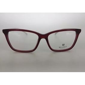 53885ca59d87d Oculos Grau Bulget Acetato - Óculos Vermelho no Mercado Livre Brasil