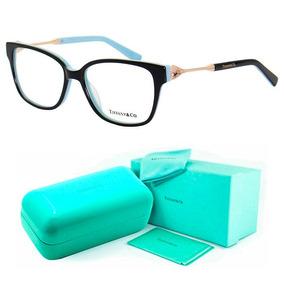 65aa4fa8064a6 Armação De Grau Tiffany   Co. Tf2324 Oculos Acetato + Kit