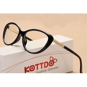 bd682a819a994 Armação Óculos Grau Olho De Gato Retrô Frete Grátis A47