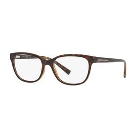fefffe81817a7 Armação Oculos Grau Armani Exchange Ax3037 8037 Marrom Tarta