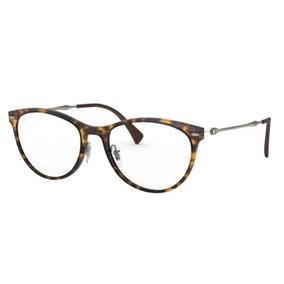 f8842fc3a9 Armação Oculos Grau Ray Ban Rb7160 5865 54 Marrom Havana. R$ 369