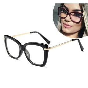 3fa7794032190 Oculos De Grau Feminino Quadrado - Óculos no Mercado Livre Brasil