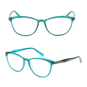 f2040bded2892 Óculos Sem Grau Gatinho Verde Água - Óculos no Mercado Livre Brasil
