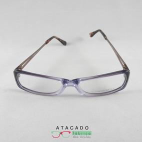 b09690f8632d1 Armação Óculos Narducci Roxo Rajado Barato