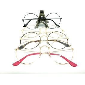 85da44f9f Oculos De Grau Rosto Redondo Feminino - Óculos Dourado em São Paulo ...