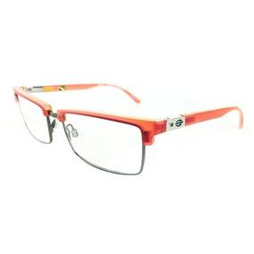 e554891eb Armação Oculos Grau Mormaii Portal 2 143923350 Vermelho Tran